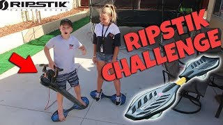 CHALLENGING MY SISTER ON A RIPSTIK!