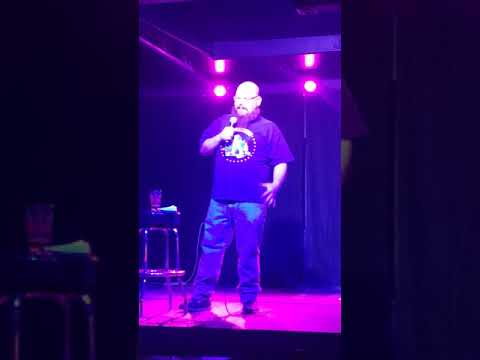 Jarrod Martin stand up at the House of Bards