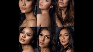 MISS UNIVERSE 2016 - ALL CONTESTANT