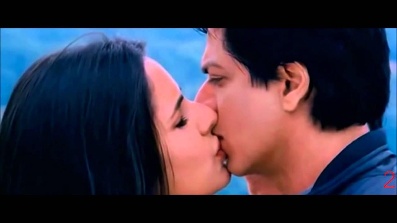 Shahrukh katrina smooch dating