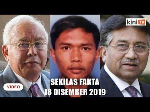 Najib akan buat sumpah laknat, Jabatan Penjara nafi Azilah keluar, Pervez hukuman mati
