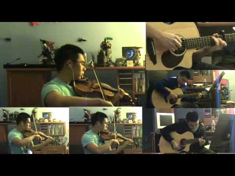Let Her Go (Passenger) Violin and Guitar Cover