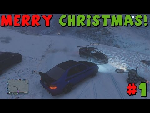 Grand Theft Auto 5 | Tomcat's Christmas Special! | Part 1 | Playing In The Snow!