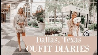DALLAS OUTFIT DIARIES // What I Wore at the RewardStyle Conference // Fashion Mumblr