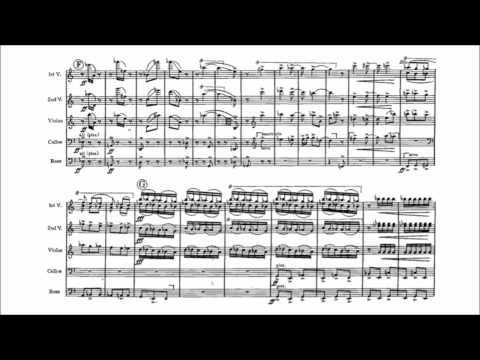 Bernard Herrmann - Sinfonietta for string orchestra (audio + sheet music)
