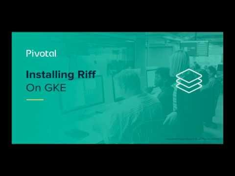 Installing Riff on GKE