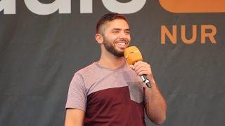 Khalid Bounouar live beim radioeins Parkfest 2016