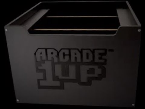 Arcade1Up riser half price from GameStop from Arcade Will