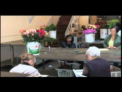 Michael Gaffney San Francisco School Of Flower Design Class Youtube