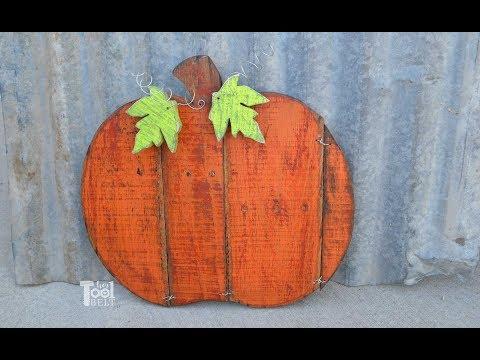 How to build a Pallet Pumpkin