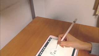 Apple Pencilを回してみた/Apple Pencil Spinning