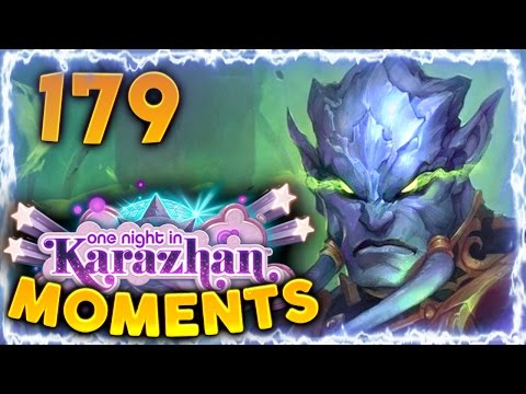 Hearthstone Karazhan Daily Funny and Lucky Moments Ep. 179 | Countered by Prince Malchezaar!!