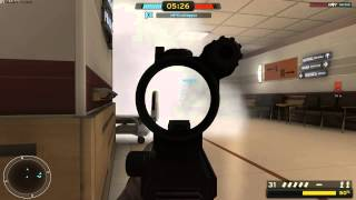 Americas Army Proving Grounds Beta ( Hospital Map ) Game Play
