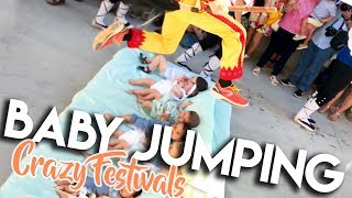 UNBELIEVABLE BABY JUMPING FESTIVAL (EL COLACHO) IN SPAIN 2017