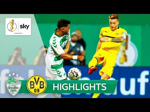 SpVgg Greuther Fürth - Borussia Dortmund 1:2 n.V. | Highlights DFB-Pokal 2018/19 - 1. Runde