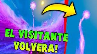 Se esta CREANDO un PORTAL!! El VISITANTE VUELVE a FORTNITE!!! 🔥😱