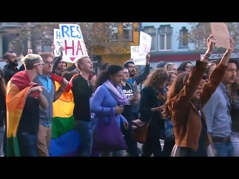 Anti-Trump protests continue days after election