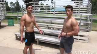 Repeat youtube video Body weight exercise at the park