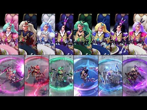 All Battle Queen Katarina Chromas & Blades Combinations
