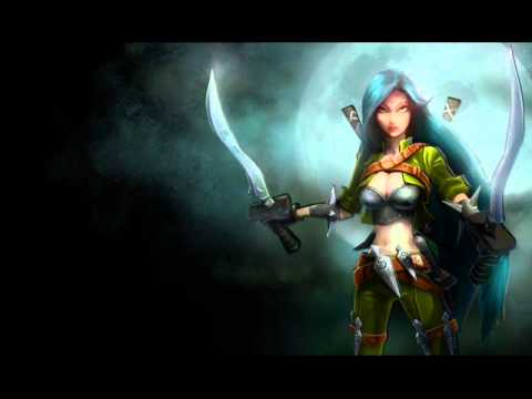 Katarina League of Legends English Voice 2012 - YouTube
