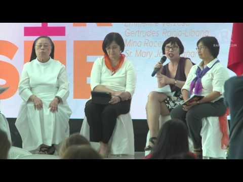 She For She Forum: Panel discussion on feminism today in the Philippines