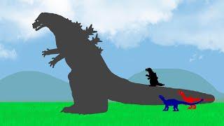 Godzilla Zilla and Dinosaurs - Dinosaurs Cartoons 2018