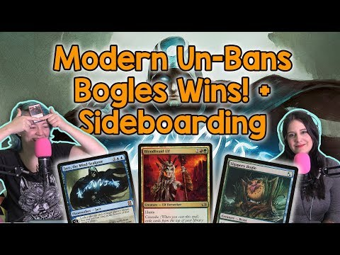Modern UN-BANNINGS (!!), Bogles Win a GP, Level Up Your Sideboarding | Magic the Gathering (Mtg)
