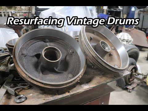 Resurfacing Vintage Drums - Ford Free-T - Ep. 80