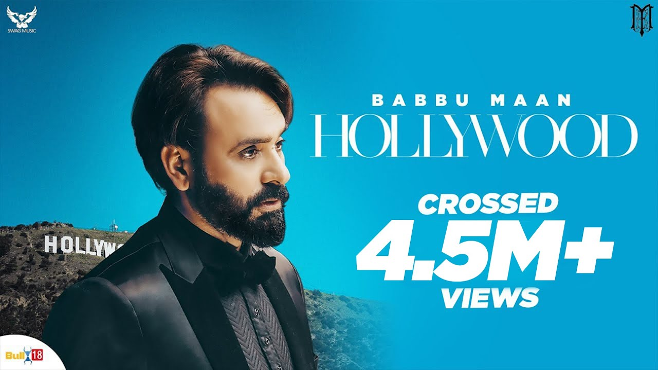 Hollywood - Babbu Maan | Official Music Video | Latest Punjabi Songs 2020