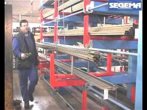 Stockage barre et tube youtube - Rack de stockage brico depot ...