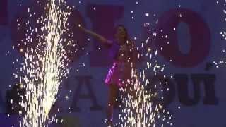 Hoy Somos Mas - Violetta en vivo Chile 2013 HD