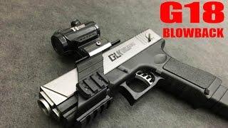 Electric Blowback Crystal Gel Bullet Glock G18