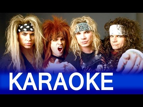 Steel Panther - Community Property Lyrics Instrumental Karaoke