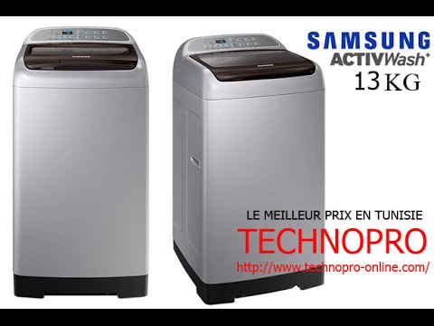 Machine laver samsung smart dual wash 13kg technopro youtube - Vider machine a laver demenagement ...