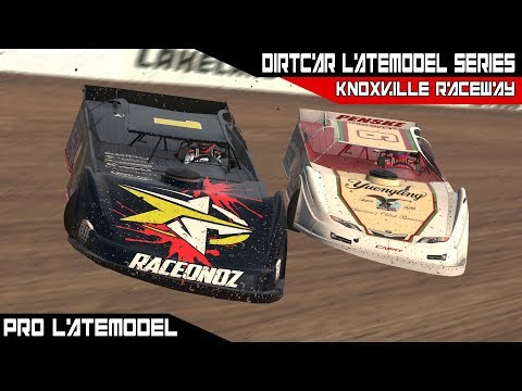 iRacing Pro Late Model Series Week 1 @ Knoxville Raceway