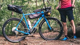 Complete Bikepacking bag setup for $100... Almost worked
