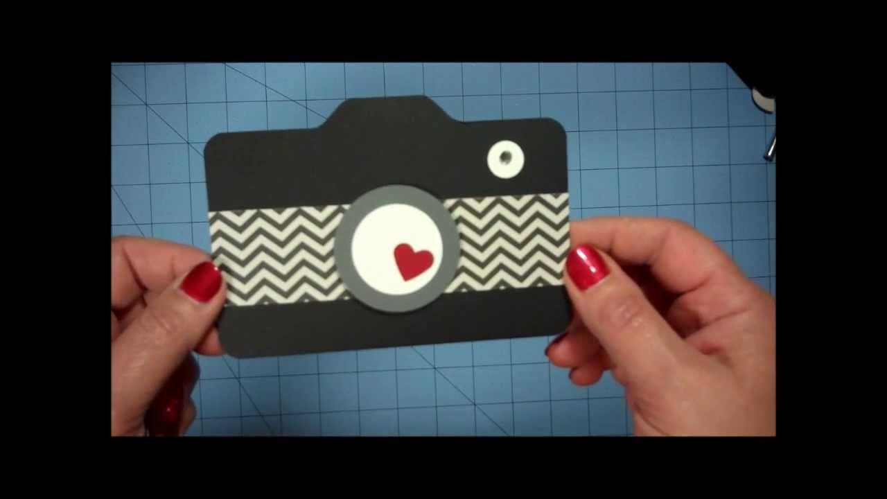 camera card  matching envelope  youtube