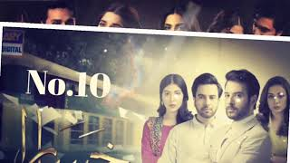 Top10 Pakistani best romantic dramas of hum tv, geo, a plus and ary digital...