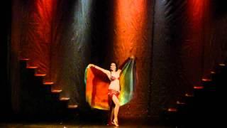 Dança do Ventre - Ísis de Luz - Festiv...