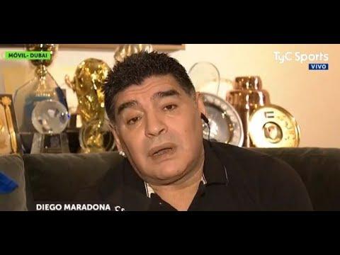 "Maradona le respondió a Dani Alves: ""Es un boludo"""