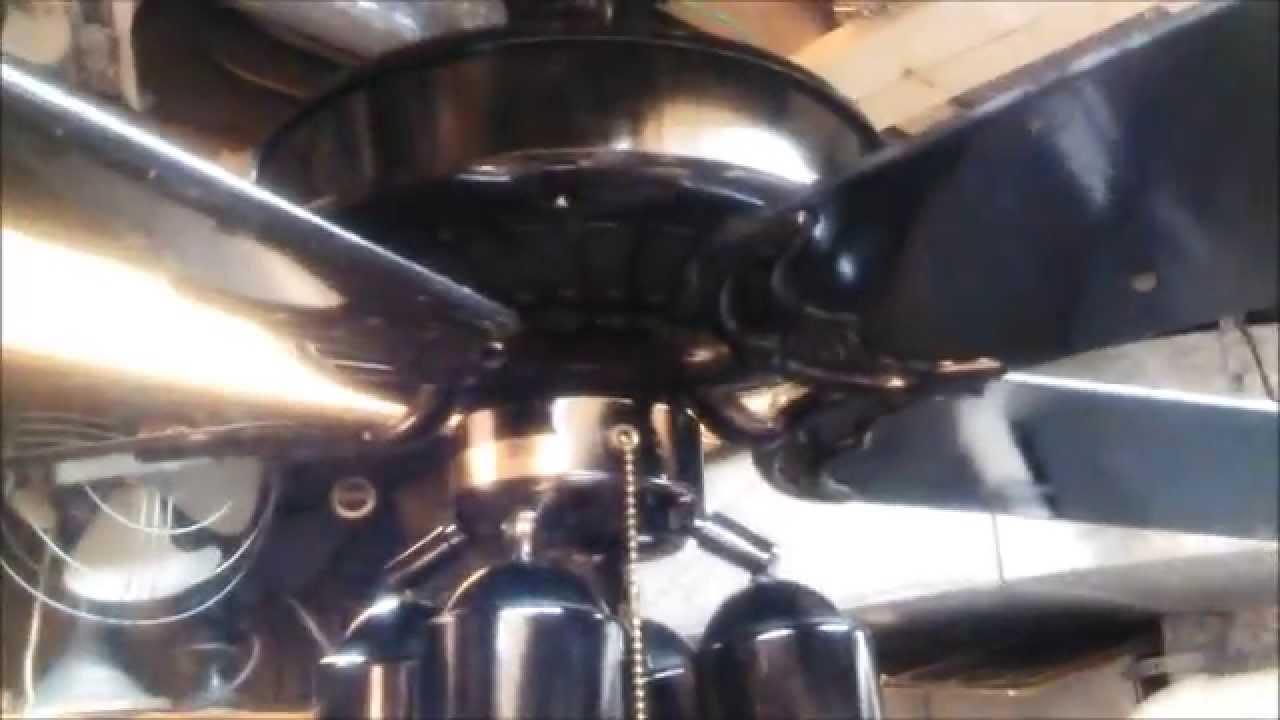 Lubricating Ceiling Fan : Lubricating a casablanca delta ii ceiling fan gloss black