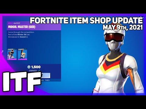 Fortnite Item Shop MOGULS ARE BACK! [May 9th, 2021] (Fortnite Battle Royale)