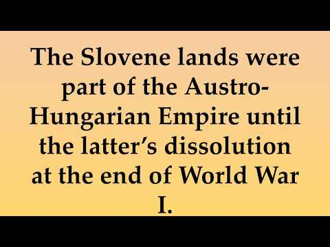 Historical and Cultural Facts about Slovenia