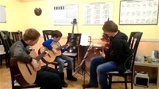 Групповой урок в Lex Guitar