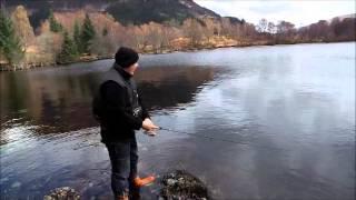 Fishing in Scotland Loch Lochy Highlands of Scotland