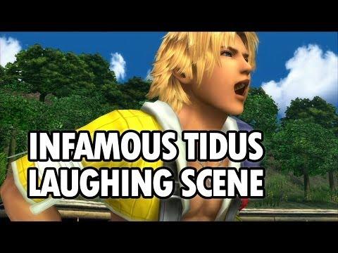 Tidus Laughing Scene - Final Fantasy X-HD Remaster [English, 1080p]