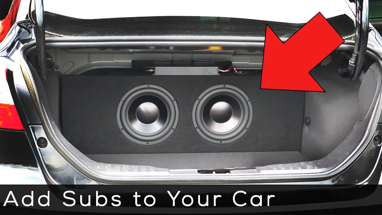 Adding a Subwoofer to your Vehicle - YouTube