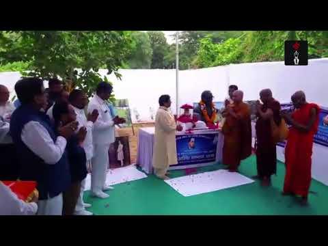 BSP Chief Mayawati At Sankalp Bhumi In Vadodara To Pay Tribute To Dr. Br Ambedkar