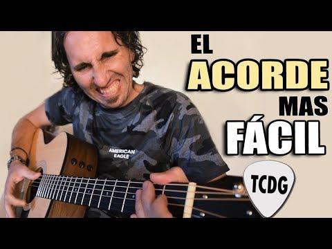 Como Tocar TU PRIMER ACORDE En Guitarra! El Más Fácil para Principiantes!