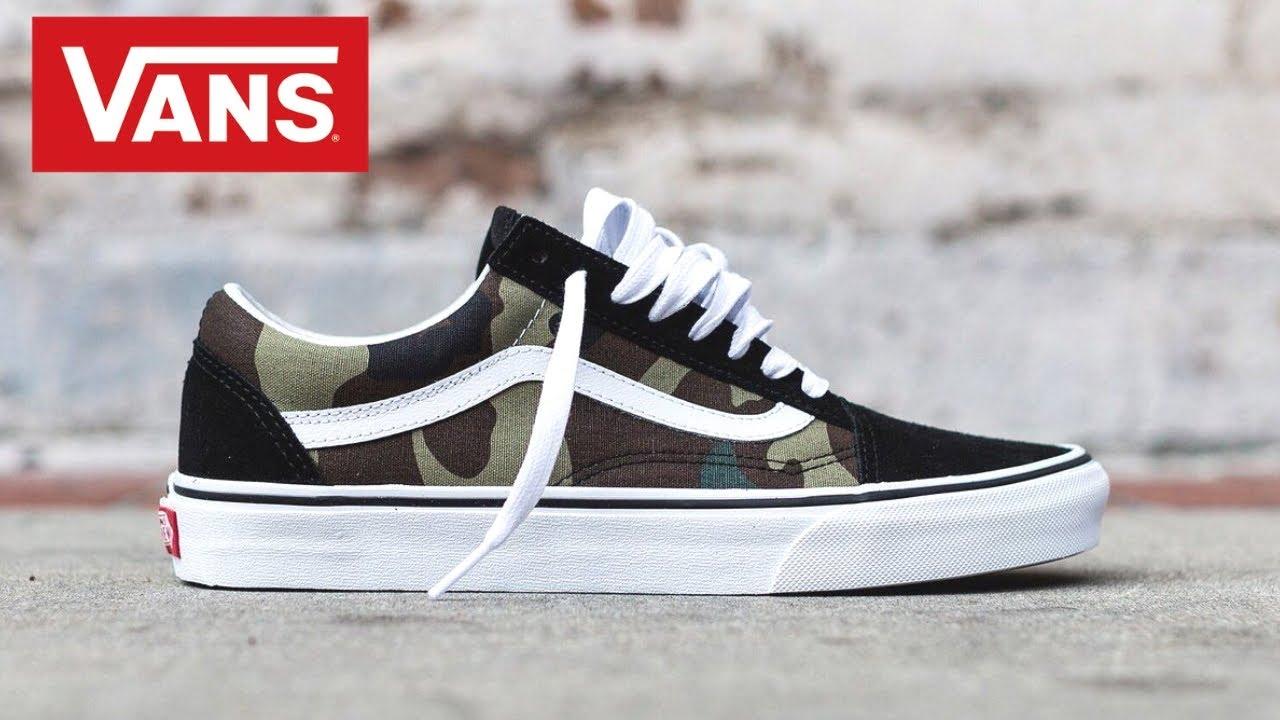 Mens Vans Sneaker Haul and Try on - YouTube